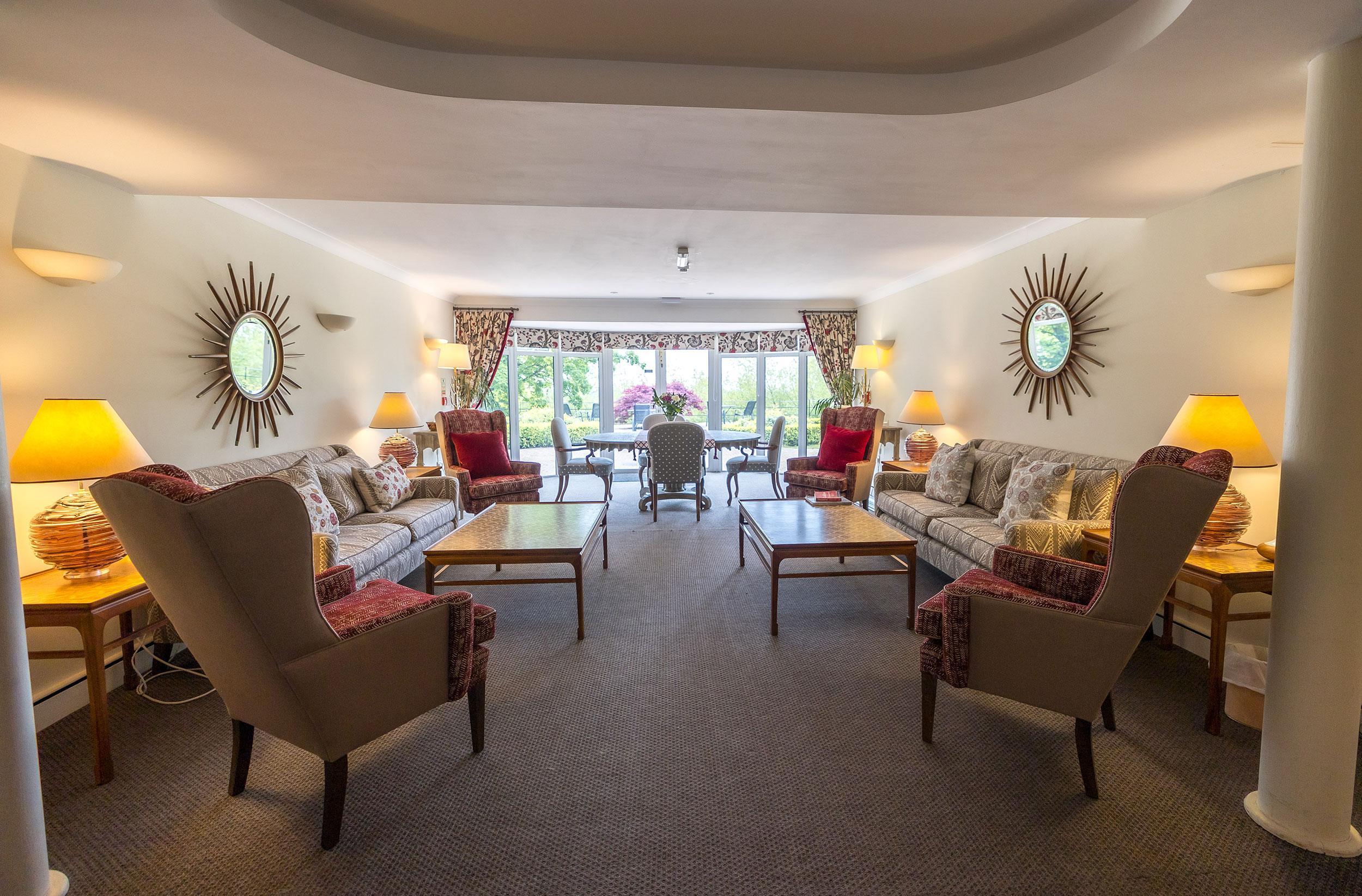 Reception Room designed by William Yeoward Interiors