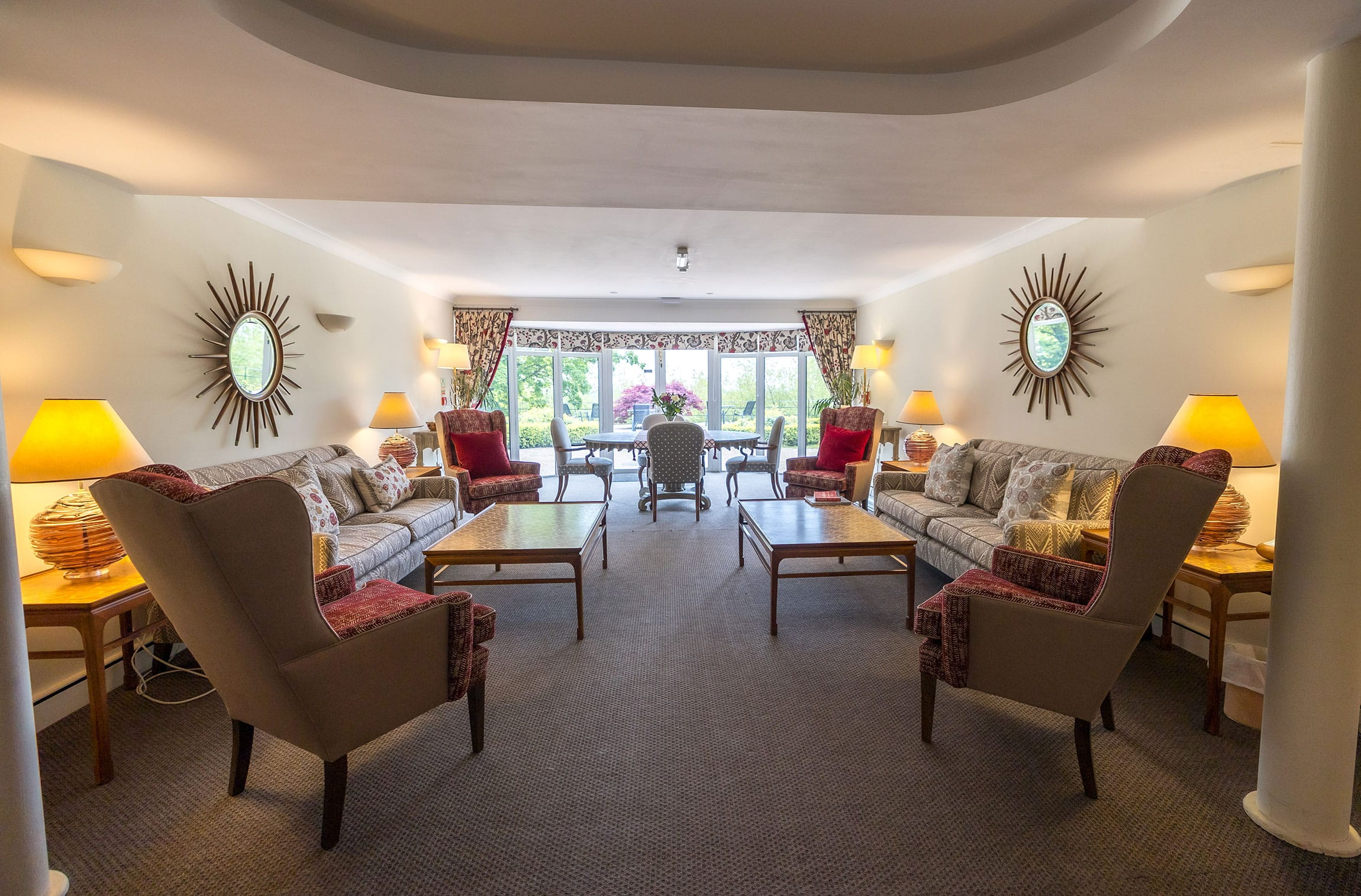 Lower Ground Floor designed by William Yeoward Interiors
